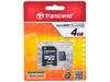 Flash карта micro SD  4GB Trans flash 4 class